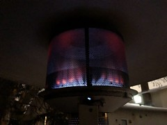 Sunglo patio heater (jasonwoodhead23) Tags: burner flame blue gas heater heating patio sunglo