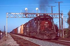 CalP westbound (C.P. Kirkie) Tags: southernpacific sp davis emd sd45t2 trains tunnelmotor railroads freighttrain northerncalifornia california overlandroute spwesterndivision