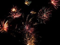 Lighting up the Sky (John Norris 1) Tags: fawkes guy scorton panasonic tz7 lancashire fireworks