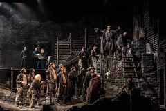 WNO From the House of the Dead. From the House of the Dead cast. Photo credit Clive Barda 0034 (operaNdB) Tags: czech fromthehouseofthedead janacek welshnationalopera opera singers singing
