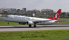 TC-JHP LMML 14-11-2018 Turkish Airlines Boeing 737-8F2 CN 42000 (Burmarrad (Mark) Camenzuli Thank you for the 14) Tags: tcjhp lmml 14112018 turkish airlines boeing 7378f2 cn 42000