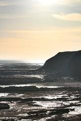 (lewi1553) Tags: berwickupontweed autumn hazysunshine hazy sunshine morning northumberland cliffs golden shimmer