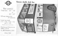 1930's LPTB Commercial advertising dept leaflet. (Ledlon89) Tags: london bus buses transport lt lte lptb londontransport londonbus londonbuses vintagebuses advertising advert busadverts poster 1930s londonpassengertransportboard leaflet