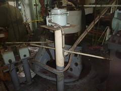 Resize of P1360834 (OpalStream) Tags: rudder marine vessel repair works overhauling workshop measurements filler gauge dirt