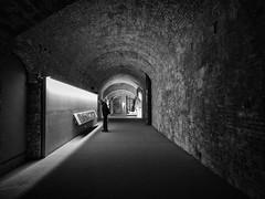 """"""" Siena, Santa Maria della Scala (pigianca) Tags: italy siena santamariadellascala museum monochrome blackwhite ricohgriv"""