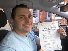 Massive congratulations  to Oliver Quintero passing his driving test on his first attempt with only 6 minor faults.  www.leosdrivingschool.com