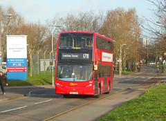 GAL E268 - SN62DHA - WOOLWICH QE HOSPITAL - SAT 8TH DEC 2018 (Bexleybus) Tags: goahead go ahead london adl dennis enviro 400 woolwich common qe queen elizabeth hospital e268 sn62dha tfl route 178