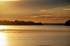 HOJE, começa o nosso Verão! (Ruby Ferreira ®) Tags: sunset pôrdosol standuppaddle dam represabillings mataatlântica forest