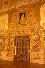 musée national de la céramique (domclavaud) Tags: valencia espagne art architecture musée céramique facade sculpture dentelle