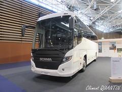 SCANIA HIGER Touring HD - Scania (Clément Quantin) Tags: car autocar interurbain tourisme ligne scania higer scaniahiger touring hd touringhd autocarexpo lyon 2018