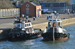Haven Supporter (4) @ KGV Lock 08-01-19 (AJBC_1) Tags: london workboat predatorcharters ©ajc dlrblog ship boat vessel england unitedkingdom uk northwoolwich eastlondon newham londonboroughofnewham nikond3200 royaldocks londonsroyaldocks damen1500pushycat ajbc1 greatbritain gb tug havensupporter collinswateragelighterage marineengineering tugboat stantug1205 damen damenshipyardsgroup docklands kgvlock kinggeorgevlock assassin
