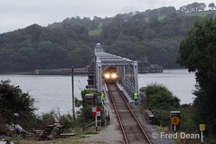 Irish Rail 2711/12 + 2714/13 on the Barrow Bridge. (Fred Dean Jnr) Tags: ubh140 iarnrodeireann irishrail 2700class gec alstom dieselmultipleunit dmu 2711 2712 2714 2713 barrowbridge september2010 wexford railcar