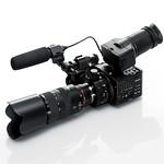 レンズ交換式 デジタルHDビデオカメラレコーダーの写真