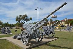 German 100mm Gun, M1917 (10cm Kanone 17) (radargeek) Tags: fortsill oklahoma 2018 august military gun army militarybase