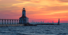 Sky Lines (The New No. 2) Tags: johncrouch copyright2018johncrouch johncrouchphotography chicago clouds color il illinois indiana lighthouse michigancity silhouette sky skyline sunset unitedstates us beach beautiful buildings cityscape colorful downtown dramatic dusk edge gorgeous horizon lake lakemichigan landscape onfire orange perfect perspective pier piers red reflection ripples shoreline skyonfire sun travel vivid water waves yellow