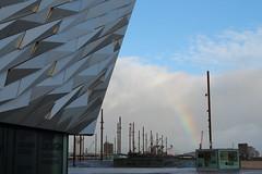 IMG_8980 Titanic, Belfast (dwarren16011) Tags: titanic belfast rainbow shipyard