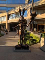 Warner Bros Studios Tour (coconut wireless) Tags: f2018tpt bugsbunny california hollywood horrormadehere looneytoons looneytunes losangeles statue studiotour warnerbros warnerbrosstudiotour