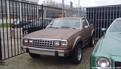 AMC Eagle SX/4 1981 (XBXG) Tags: amc eagle sx4 1981 amceagle 4wd 4x4 liftback coupé coupe bva auctions anthony fokkerweg uithoorn nederland holland netherlands paysbas youngtimer vintage old classic american car auto automobile voiture ancienne américaine us usa vehicle outdoor