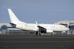 2-BASG B737 BBJ YBBN (Sierra Delta Aviation) Tags: boeing b737 bbj brisbane airport phil collins ybbn 2basg