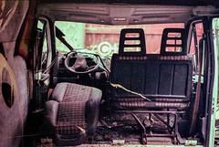 Hidden van (herbdolphy) Tags: analogique argentique analog abandoned dirty dusty 35mm pellicule film filmisnotdead pentax p30n fuji 400 50mm truck van car
