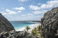 2017-04-26_09-08-52 Orient Beach, SXM (canavart) Tags: sxm stmartin stmaarten fwi orientbeach orientbay beach ocean waves tropical caribbean cocobeach lookout view turquoise water