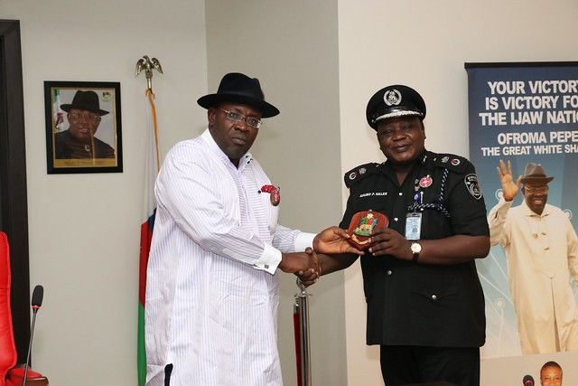 HSDickson - Courtesy Call by New Commissioner of Police 5th DEC 2018