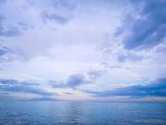 Relax... (german261093) Tags: landskape paisaje clouds nubes blue azul sea mar mediterráneo sky cielo cloudy nublado nikon d3000 málaga españa