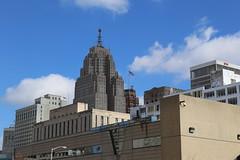 Detroit View (Ken S Three) Tags: detroit skyline buildings