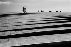 F_MG_2115-BW-2-Canon 6DII-Canon 16-35mm-May Lee 廖藹淳 (May-margy) Tags: maymargy bw 黑白 人像 剪影 屋頂 建築 階梯 欄杆 遊客 幾何構圖 點人 街拍 線條造型與光影 先馬行空鏡頭的異想世界 心象意象與影像 台灣攝影師 里斯本 葡萄牙 fmg2115bw2 portrait silhouette architecture stairs hand rail streetviewphotography humaningeometry humanelement mylensandmyimagination linesformandlightandshadow naturalcoincidencethrumylens taiwanphotographer maat lisbon portugal canon6dii maylee廖藹淳 canon1635mm