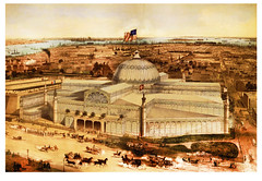 New York Crystal Palace -- 1853 (JFGryphon) Tags: 1september1853 georgebaxter newyorkcrystalpalace reservoirsquare bryantpark 42ndstreet baxterprocess aquatintkeyplate woodengravedblocks