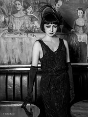 DBN_1333-Modifier (DidierBonin) Tags: portrait gatsby paris 1920 coupole paname blackdress dress woman beauty style 20s canon 5dmk3 5d 5dmkiii