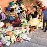 Food market entrance in Guatemala thumbnail