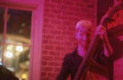 Bass Player (TAZMPictures) Tags: neworleans jazz frenchquarter bourbonstreet