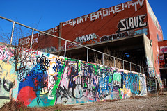 Echo Lake Incinerator 1.27.19.23 (jrbeckwith) Tags: echolakeincinerator 2019 photo picture jr beckwith jbeckr fortworth texas tx echo lake incinerator endangered danger old history historic abandoned left decay drug drugdealer graffiti girls shoot ruins