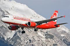 OE-LOE (toptag) Tags: airbusa320214 oeloe laudamotion inn lowi innsbruck aviation lauda airberlin hybridcolors hybrid