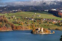 Gruyere Autumn (hapulcu) Tags: ch freiburg fribourg gruyeres helvetia herbst isvicre schweiz suisse suiza suiça sveits svizzera switzerland zvicer automne autumn autunno lac lake otoño toamna švicarska