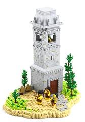 Lakeside Tower, Myzectlan (Ayrlego) Tags: lego aztec myzec myzectlan brethrenofthebrickseas bobs tower