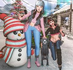 "Look 437 (Marzia & Shaitan Demon ""Frozen Space Fashion Blog ) Tags: kaithleens ncore locktuft madpea scandalize uber maitreya genusproject events secondlife bento mesh"