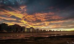 La última del año... (Jaime Martin Fotografia) Tags: asturias gijon sunset nature sea city cantabrico