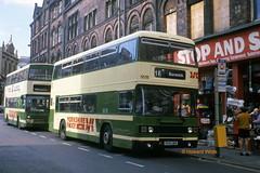 Yorkshire Rider 5519 (B519 UWW) (SelmerOrSelnec) Tags: yorkshirerider leyland olympian ecw b519uww leeds newyorkstreet westyorkshire bus