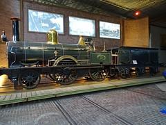 SS 13, nicknamed the spectacle (Beyond the grave) Tags: trains railroad railroadmuseum utrecht netherlands steamlocomotive locomotive ss staatsspoorwegen