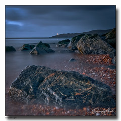 Startpoint Light (jeremy willcocks) Tags: startpointlight southhams devon ukjeremywillcocksnikond300 landscape sea coast rocks granite pebbles sky night evening shore water wwwsouthwetscenesmeuk jeremywillcocks