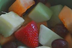 (Veee Man) Tags: gimp nikond5000 lasvegas nevada food fruit red orange green purple cantaloupe grape honeydew strawberry