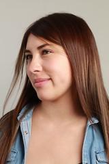 Andrea (johnmoralesh) Tags: model modelo portrait retrato canon newphotographer fotografia photography beautiful face closeup