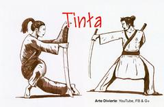 Cómo dibujar dibujar un guerrero japonés con tinta (artedivierte) Tags: arte dibujo artedivierte guerrero japonés tinta plumapincel tutto3 artistleonardo leonardopereznieto patreon tutorial