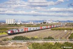 Logitren (ɢ. ʙᴇʀᴇɴɢᴜᴇʀ [ ō-]) Tags: 335 335028 logitren teco landscape railroad ffcc railway valencia fsl clouds winter