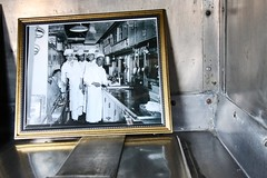 Dining Car Kitchen (Laurence's Pictures) Tags: medota illinois railroad museum train station amtrak tourism things see cbq burlington chicago quincy northern agent office