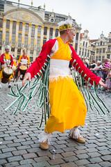 Zinneke 2018 - Shamane (saigneurdeguerre) Tags: europe europa belgique belgië belgien belgium belgica bruxelles brussel brüssel brussels bruxelas ponte antonioponte aponte ponteantonio saigneurdeguerre canon 5d mark 3 iii eos zinneke parade 8 mai mei 2018 zinnode shamane