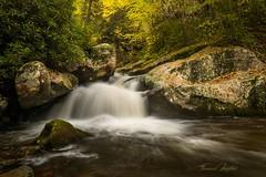 Blue Hole Falls (the SkyHum) Tags: waterfall water longexposure landscape nature fall tennessee cascade flowing rocks stream creek