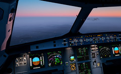 P3D-16 (Pilot Tris) Tags: prepar3d flight flying plane aeroplane airplane computer gaming flightsim sim simulator cockpit aerial sky landscape city aircraft mountain road grass people clock